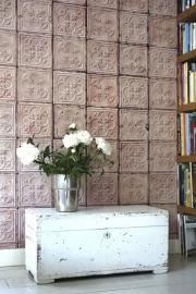 Arte Brooklyn Tins Behang Tin-06 Tegel/Verweerd/Vintage/Landelijk