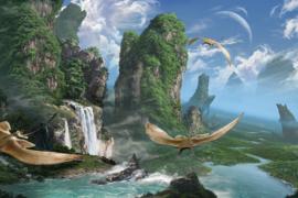 AS Creation Wallpaper 3 XXL Fotobehang 471673 XL Skyrays/Science fiction/Natuur
