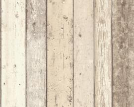 AS Creation Elements Behang 8951-10 Hout/Planken/Sloophout/Landelijk