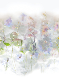 Behangexpresse Special Edition AK1016 Pink Romance/Bloemen/Pastel/Botanisch Fotobehang