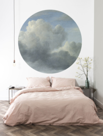 Kek Circle/Wonderwalls CK 008 Lucht/Wolken/Romantisch/Cirkel Fotobehang - Dutch Wallcoverings
