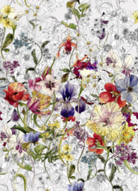 Komar Stories 4-201 Flora/Bloemen Fotobehang - Noordwand