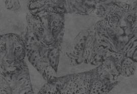 Hookedonwalls Blooming Behang BL22722 Panther/Dieren/Panter/Natuurlijk