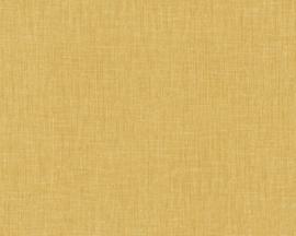 ASCreation Metropolitan Stories 36922-1 Uni/Structuur/Jute/Natuurlijk/Geel Behang