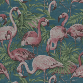Arte Avalon Behang 31541 Flamingo/Vogels/Dieren