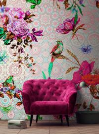 Walls by Patel DD110196 Mosaic Garden 2 Fotobehang - ASCreation