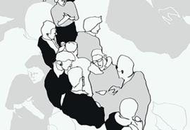 Hookedonwalls Marimekko Behang 23361 Ystavat/Grafisch/Modern/Mensen