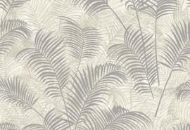 Hookedonwalls Blooming Behang BL22760 Allover Leaf/Botanisch/Bladeren/Natuurlijk/Grijs