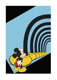 Komar/Disney Edition4 Poster/Affiche WB034 Mickey Mouse Foot Tunnel/Kinderkamer Afbeelding