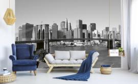 Dimex Fotobehang Manhattan Gray MS-5-0010 Steden/Uitzicht/Modern