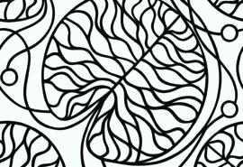 Hookedonwalls Marimekko Behang 14131 Bottna/Botanisch/Grafisch/Modern