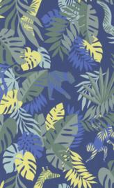 BN Wallcoverings #Smalltalk Behang 219300 Botanisch/Blauw