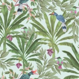 Esta Home Paradise Behang 154-139189 Tropical/Jungle/Botanisch/Planten/Vogels