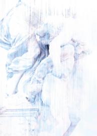 Noordwand Komar Raw Fotobehang R2-014 Dreaming of Roma/Beelden/Steen/Modern/Natuurlijk