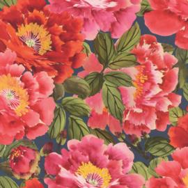 Rasch Kimono Behang 408355 Bloemen/Flowers/Natuurlijk/Multi
