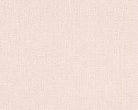 AS Creation Hugge Behang  36378-5 Uni/Landelijk/Jute/Modern/Roze