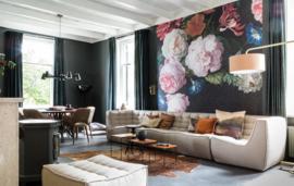 VTWonen / Weer verliefd op je huis SBS6  20 oktober Eijffinger Fotobehang Masterpiece 358113  Bloemen