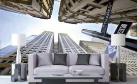 Dimex Fotobehang Broadway Skyscrapers MS-5-0011 Wolkenkrabbers/Gebouwen/Modern/Steden