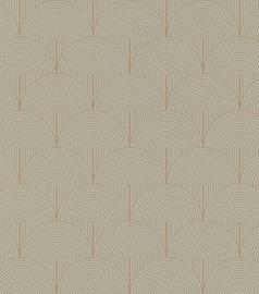Rasch Salisbury Behang 552454 Bogen/Geometrisch/Art Deco/Modern