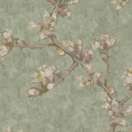 BN Wallcoverings van Gogh 2 Behang 220013 Bloesemtak/Natuurlijk/Romantisch