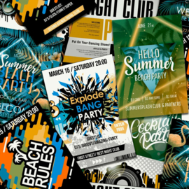Noordwand Good Vibes Behang GV24231 DJ/Tiener/Beach Rules/Night Club