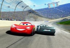 Noordwand/Komar Disney Edition4 Fotobehang 8-403 Cars 3 Curve/Bocht/Racen/Auto's/Kinderkamer Behang