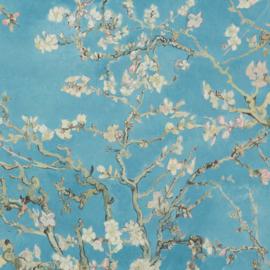 BN Wallcoverings van Gogh 2 Behang 17140 Amandelbloesem/Takken/Landelijk/Natuurlijk/Turquoise