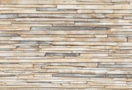 Komar Stories 8-920 Whitewashed Wood/Landelijk/Modern/Hout/Planken Fotobehang - Noordwand