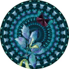 Behangexpresse Circle of Life/Select.D Cirkel TD814 Monet/Mandala/Vlinder/Botanisch