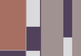 Hookedonwalls Tinted Tiles Behang 29000 Opulent/Grafisch/Modern