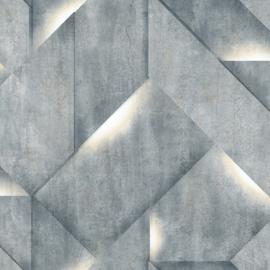 Dutch Wallcoverings Onyx Behang M35201 Modern/Beton/Steen/Blok/3D