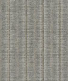 BN Walls/Voca Grounded Behang 220632 Obanzi/Streep/Linnen Structuur/Natuurlijk