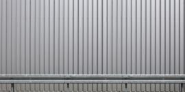 AS Creation AP Digital4 Behang DD108561 Iron Wall Silver/Metaal/Industrieel/Modern Fotobehang