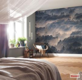 Komar Pure P029-VD3 Rays/Romantisch/Natuur/Bomen/Landschap Fotobehang Noordwand
