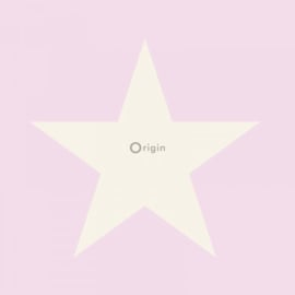 Origin Precious Behang 352-346827 Ster/Star/Roze/Kinderkamer