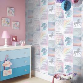 Arthouse Behang  698300 Unicorn/Eenhoorn