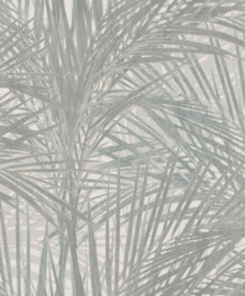 BN Wallcoverings/Voca Zen Behang 218744 Palm Lust/Bladeren/Botanisch/Natuurlijk