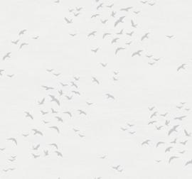 Dutch Wallcoverings Navy, Grey & White Behang BL70418 Meeuwen/Vogels/Zee/Lucht
