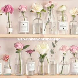 Noordwand Kids@Home Individual Behang 106373 Florista Pink/Landelijk/Romantisch