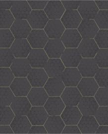 Eijffinger Enso Behang 386581 Grafisch/Geometrisch/Hexagon