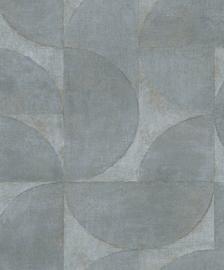 Noordwand Vintage Deluxe Behang 32820 Modern/Grafisch/Cirkel/Blok
