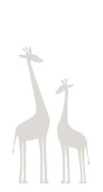 Origin Precious Behang Fotobehang 352-357219 Giraffes/Giraf/Dieren/Kinderkamer