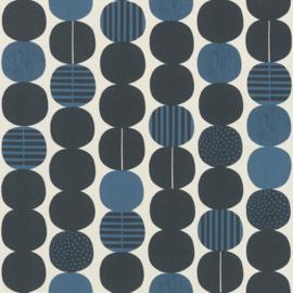 Onszelf Amazing Behang 539745 Modern/Retro/Linnen Structuur/Ballen/Stippen