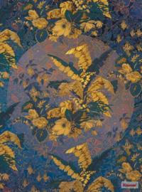 Komar/Noordwand Heritage Edition1 Fotobehang HX4-028 Orient d'Or/Bloemen/Klassiek Behang
