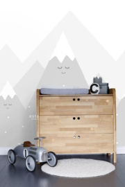 Esta XL Photowalls For Kids 158840 Mountains/Bergen/Sneeuw/Peuter/Kleuter Fotobehang