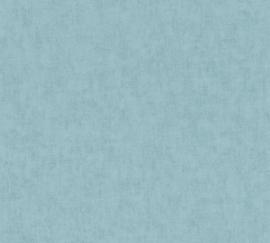 AS Creation Geo Nordic Behang 37535-8 Uni/Vintage/Verweerd/Modern/Landelijk/Blauw
