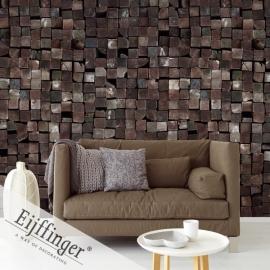 Eijffinger Wallpower Wonders Behang 321546 DIY/Hout/Blokken/Stoer Fotobehang