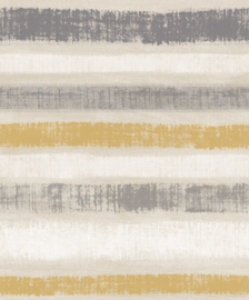 Journeys 610604 Painted Stripe Ochre Behang - Arthouse/Atwalls
