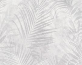 AS Creation New Studio 2.0 Behang 37411-5 Botanisch/Bladeren/Natuurlijk/Grijs