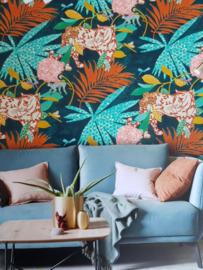 @Walls Schoner Wohnen/New Modern Behang 31862 Eden/Botanisch/Panter/Dieren/Bloemen